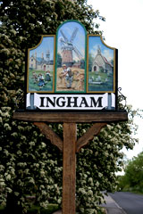 Ingham Village Sign